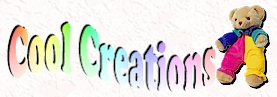 Cool Creations Banner (Teddy bear)